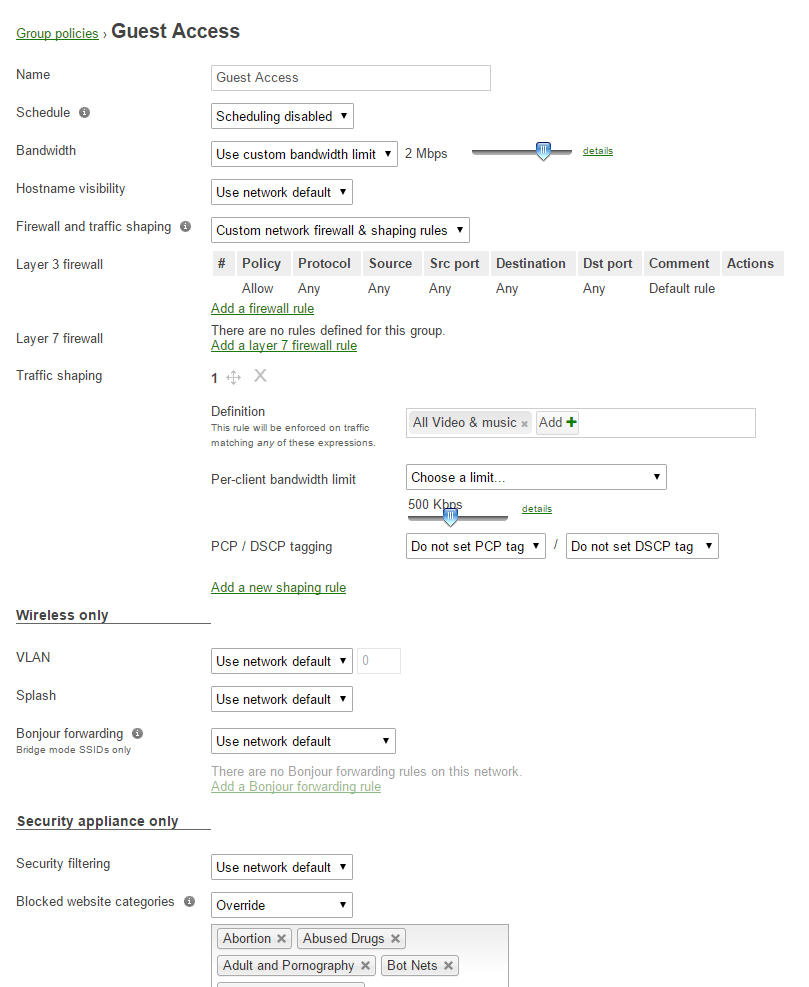 Meraki Guest Access – The Better Way   cantechit - Technology and IT
